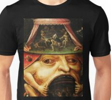 Hieronymus Bosch monster eating people Unisex T-Shirt