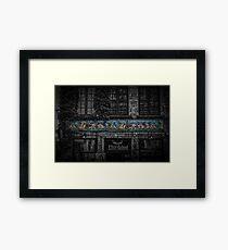 Eleventh Commandment Framed Print