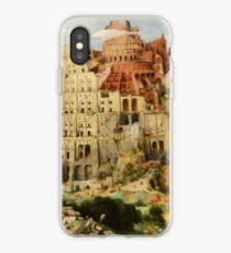 Pieter Bruegel Tower of Babel iPhone Case