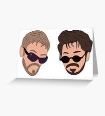 Andy Samberg, Justin Timberlake, Saturday Night Live - Dick in a Box Greeting Card