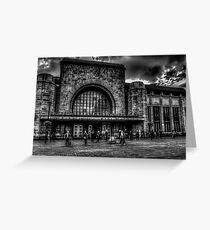 Helsinki Station Greeting Card