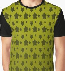 Gold Hocus Pocus Star Pattern  Graphic T-Shirt