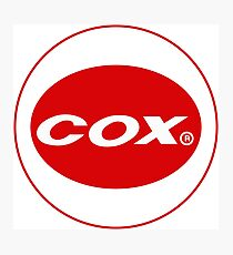 Cox vintage model engines USA Photographic Print