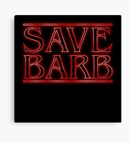 Save Barb Canvas Print