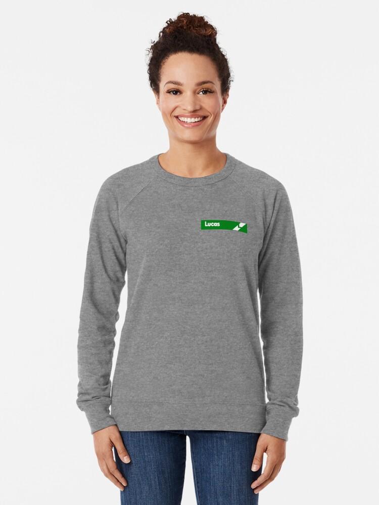 Alternate view of Lucas Electrics Lightweight Sweatshirt