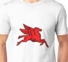 Red Pegasus Dallas Texas  Unisex T-Shirt
