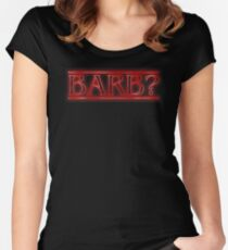 Barb? Women's Fitted Scoop T-Shirt