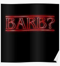 Barb? Poster