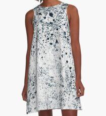 Abstract II - Dalmation Print A-Line Dress