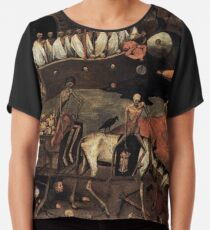 Blusa The Death Cart de Pieter Bruegel 1500s