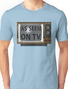 As Seen on TV Vintage  Funny Design  Unisex T-Shirt