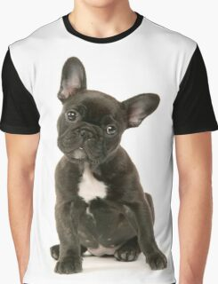 Cute French Bulldog Puppy Graphic T-Shirt