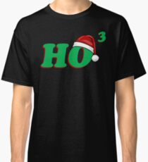Ho 3 (Cubed) Christmas Humor Classic T-Shirt