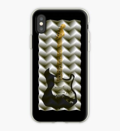 guitar folds iPhone Case