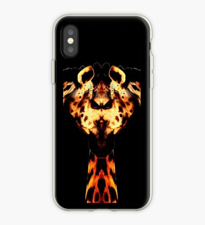 giraffe man iPhone Case