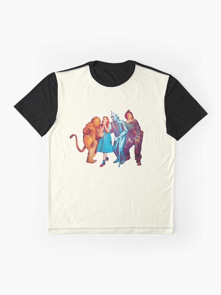 Vista alternativa de Camiseta gráfica Wizard of Oz