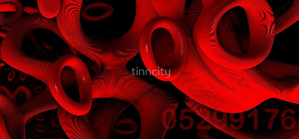 red rings of mercury by tinncity