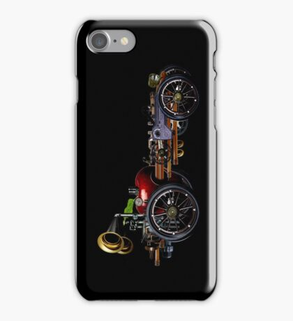 steam powered apple car iPhone Case/Skin