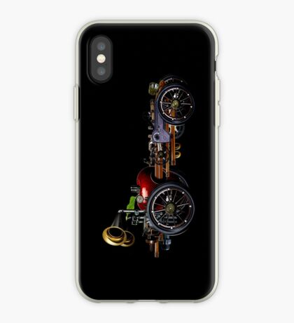 steam powered apple car iPhone Case