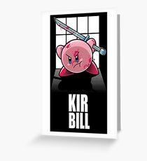 KIR BILL Greeting Card