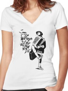Weird and Rare - Fear Loathing Vegas Women's Fitted V-Neck T-Shirt