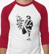 Weird and Rare - Fear Loathing Vegas Men's Baseball ¾ T-Shirt