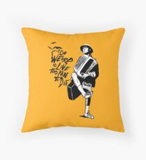 Weird and Rare - Fear Loathing Vegas Throw Pillow