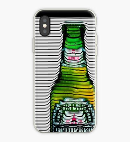 beer ripples iPhone Case