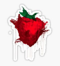 Strawberry from Across the universe Sticker