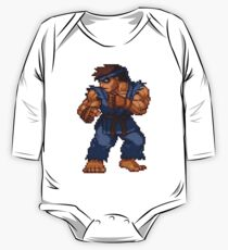 Evil Ryu - Street Fighter Sprite One Piece - Long Sleeve