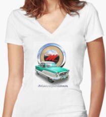 Nash Metropolitan Women's Fitted V-Neck T-Shirt