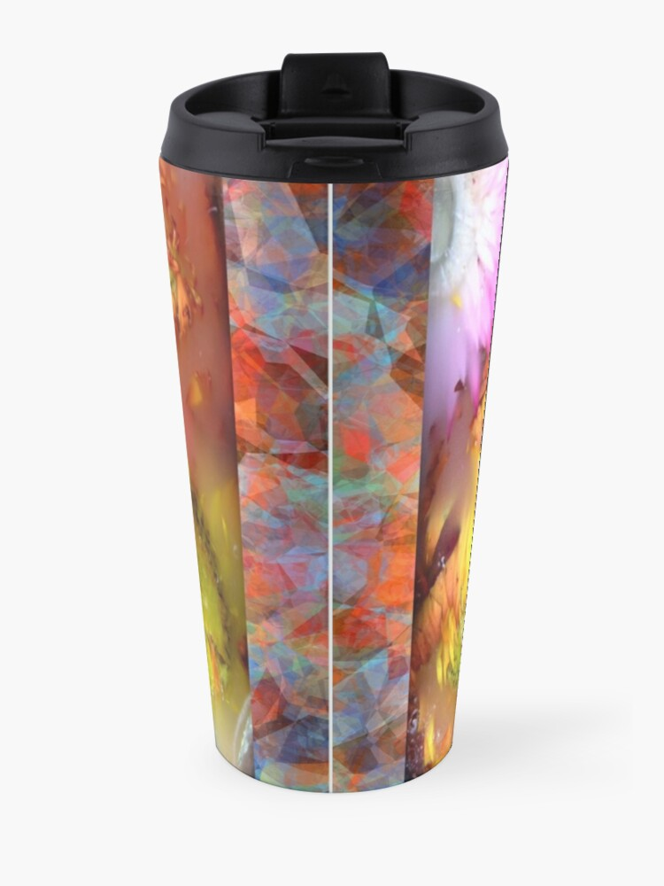 Alternate view of Marble Flower Products Travel Mug
