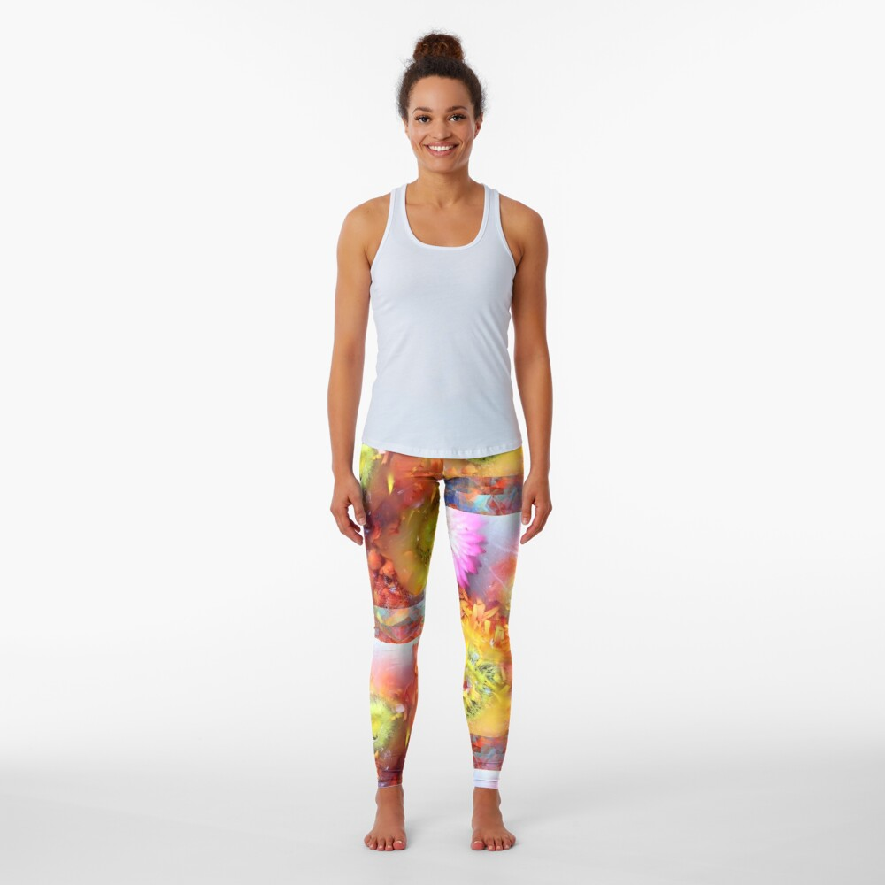 Marble Flower Products Leggings