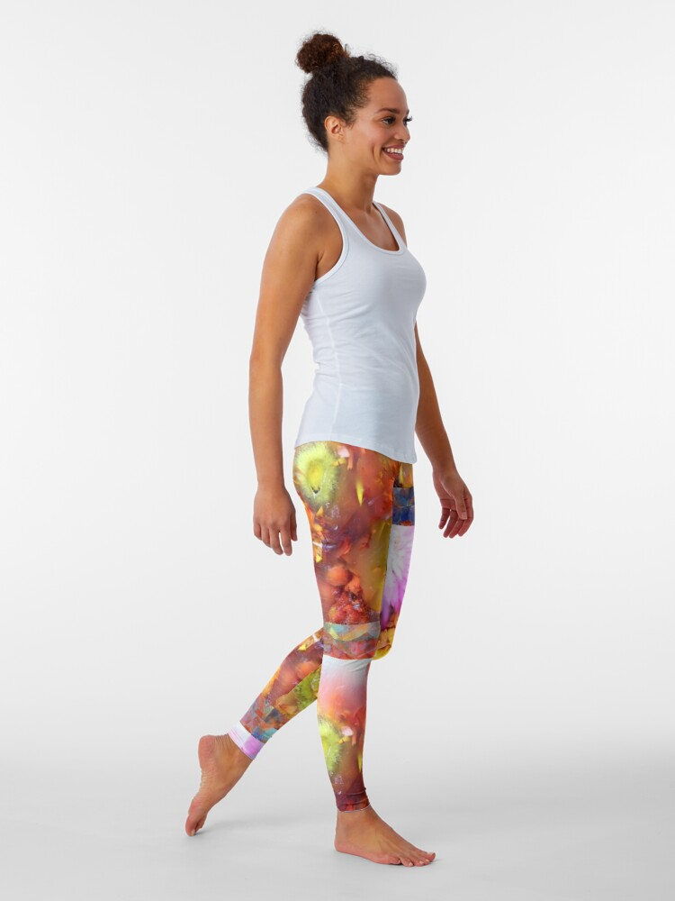 Alternate view of Marble Flower Products Leggings
