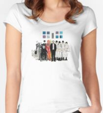 Stanley Kubrick Women's Fitted Scoop T-Shirt