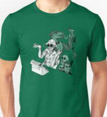 Camiseta ajustada HS Thompson writing