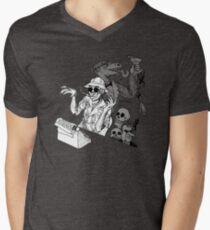 HS Thompson writing Men's V-Neck T-Shirt