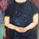 After Modigliani by Frances Henke