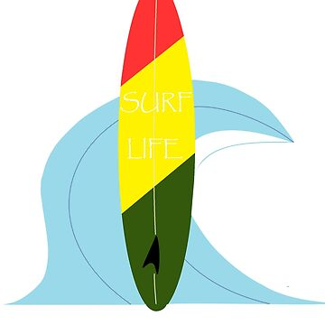 surf life by errolmurillo