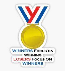 Winners Sticker