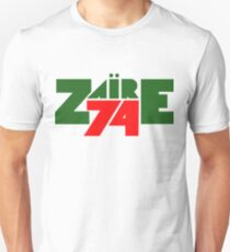 Zaire 74' - Rumble in the Jungle Unisex T-Shirt