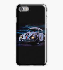 Herbie The Love Bug Painting iPhone Case/Skin