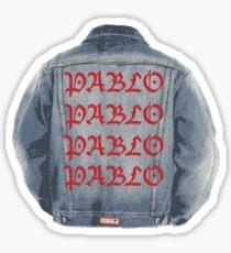 Kanye Pablo Jacket Sticker