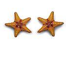 Starfish Mermaid Top by MissIronMax