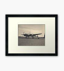 aircraft (p-38 lightning) WWII Framed Print
