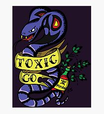 Toxic Pokemon Photographic Print