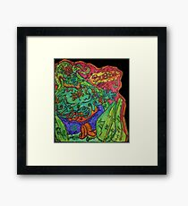 Ganja Guardians #1:Bubba {Real} Framed Print