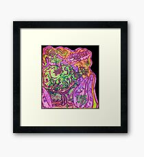 Ganja Guardians #1:Bubba {Trippy} Framed Print