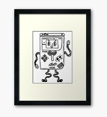 Goofy Game Boy Guy Framed Print