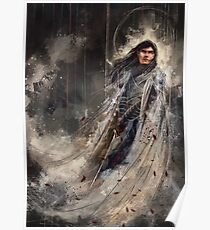 Fingolfin challenges Mogoth Poster